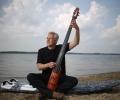 Cospudener See Philipp E Kümpel (46) Komponist Filmusik u.a Soko Leipzig leidenschaftlicher Surfer Foto: © Uwe Koehn,  BILD Halle