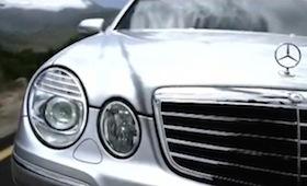 Mercedes Benz E-Klasse Showroom