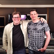 "Andreas Moisa bei ""Mix with the Masters"" mit Alan Meyerson (Hans Zimmer, James Newton Howard)"